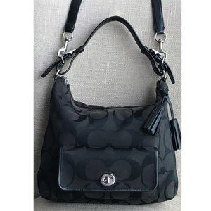 Coach Courtney Signature Hobo Handbag 22392